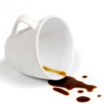 Koffiekop Vlek